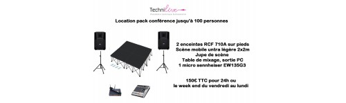 Pack conférence
